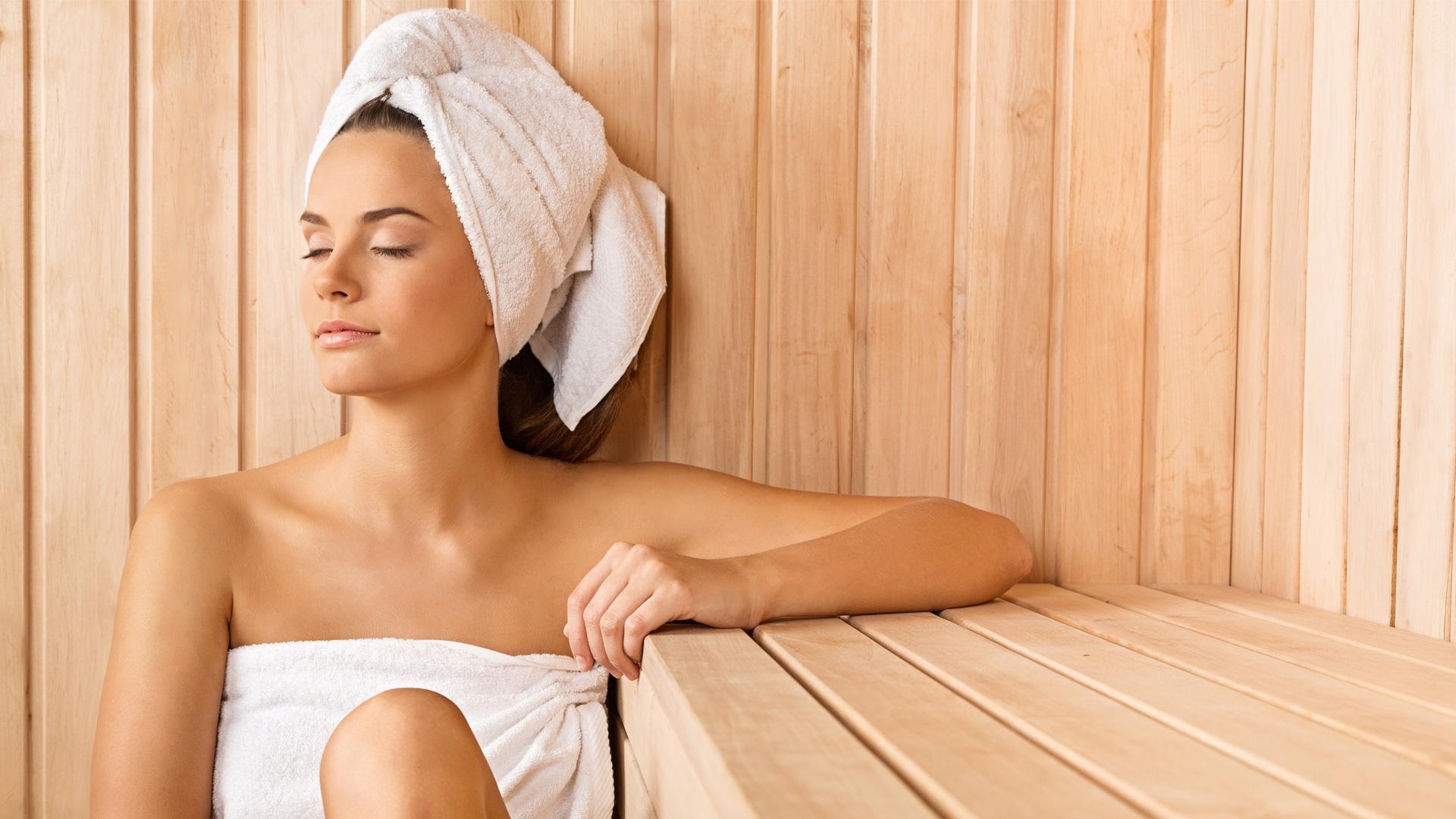 genieten in eigen sauna